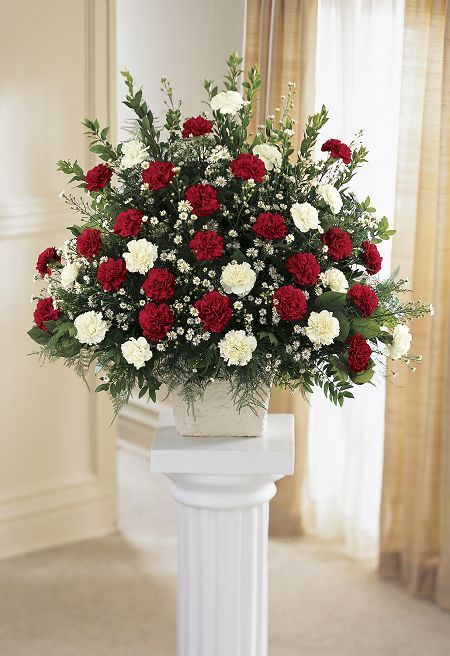Carnation Spray Arrangement