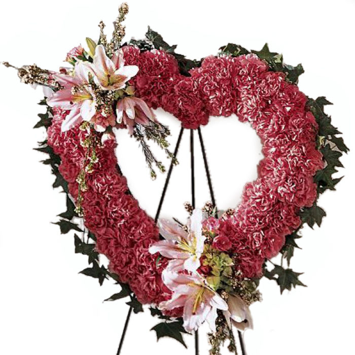 Our Love Eternal Funeral Wreath